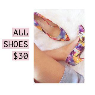 ALL SHOES $30 - AFTERPAY AVAILABLE ON ALL LISTINGS