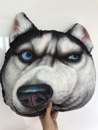 Husky pillow cushion sofa soft toy (large)