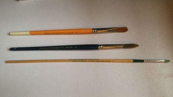 Watercolour paint brushes (11 brushes!)