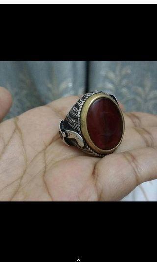 Agate Ring(Aqiq Yamen)