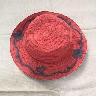 🚚 義大利製 織帶一體成型漁夫帽