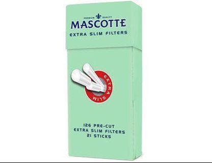 Mascotte extra slim menthol filter