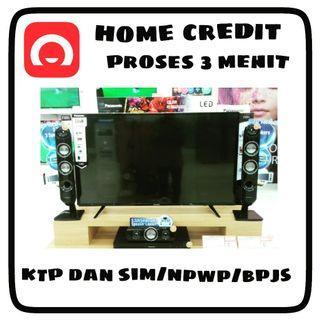 "Kredit Tv Panasonic 43"" Proses Acc 3 Menit Cicilan 0% Mulai Bulan Depan"