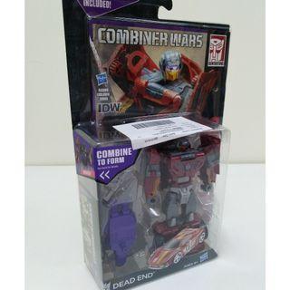 Transformers Combiner Wars Dead End