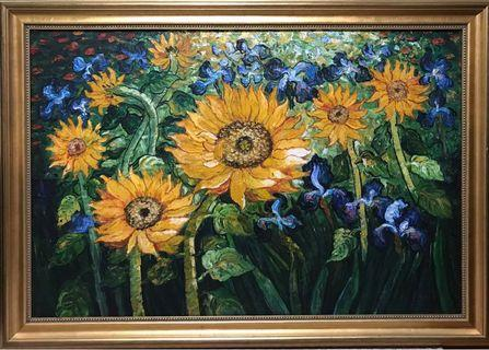 🚚 Sunflower Oil Painting