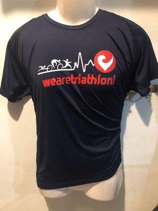 Iskandar puteri triathlon CHALLENGE event tee size M
