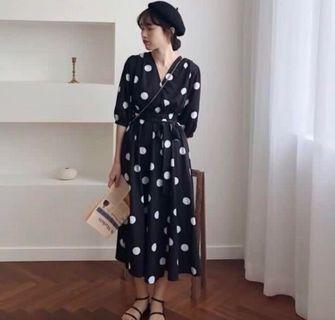 🚚 法式點點洋裝春夏款 #半價衣服拍賣會