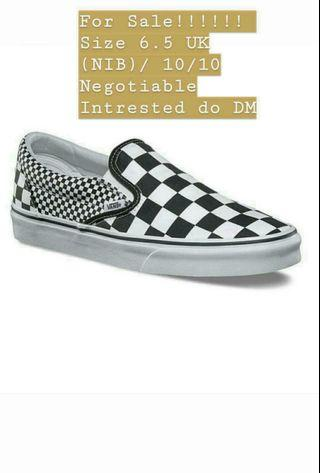 VANS CLASSIC SLIP-ON IN MIX CHECKERBOARD