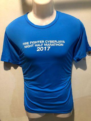 2017 BOMBA run event Tee M Newton with MEDAL