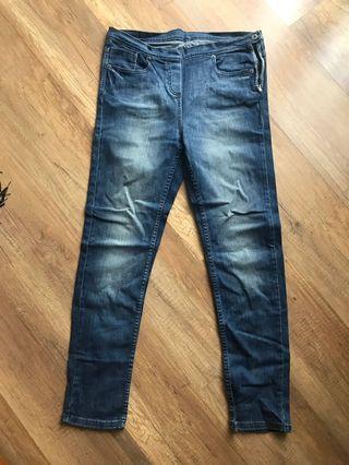 Marks & Spencer Blue Jegging/Skinny Jeans