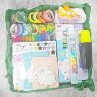 Rainbow Stationery Mystery Box