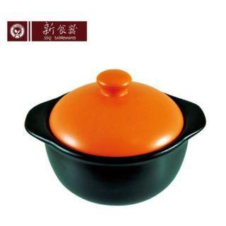 《新食器》🍲 台灣製MIT認證 🍲 無毒陶瓷彩釉個人鍋 🍢 超耐熱 🔥 1000ml大容量 🔥
