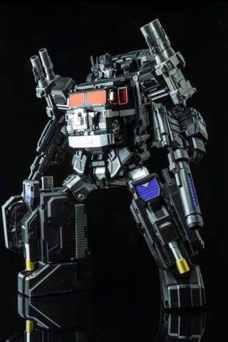 🚚 MISB Optimus Prime Black Power Baser