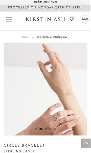 PRICE DROP Kirsten ash bracelet