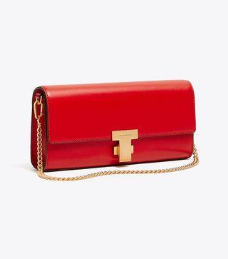 Authentic Tory Burch 51020 Juliette Clutch Crossbody Bag