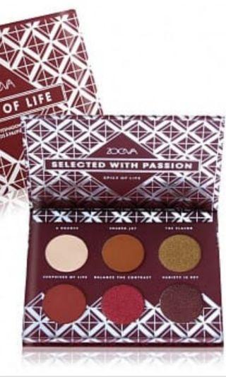 降價❗全新 現貨 ZOEVA 6色眼影盤 迷你盤 Spice Of Life Voyager Eyeshadow Palette