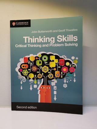 Thinking Skills - John Butterworth and Geoff Thwaites, Cambridge University Press