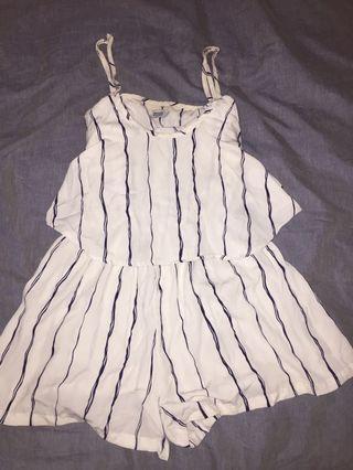 Stripy jumpsuit