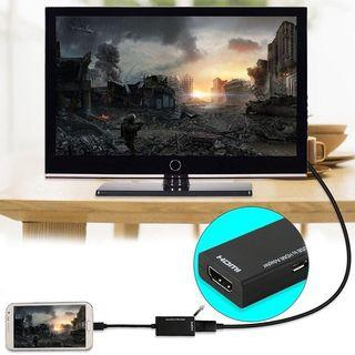 USB to HDMI TV Out HDTV MHL Adapter