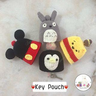 Handmade Cartoon Key Pouch