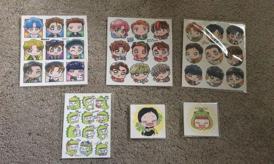 SING_NU EXO fan art stickers
