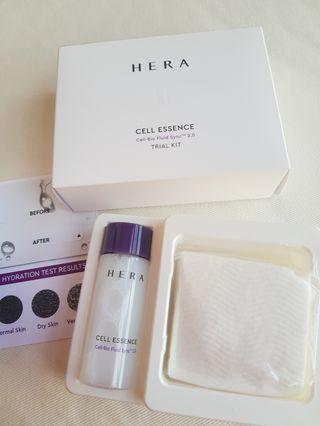 BNIB Hera Cell Essence with Cotton & Test Strips
