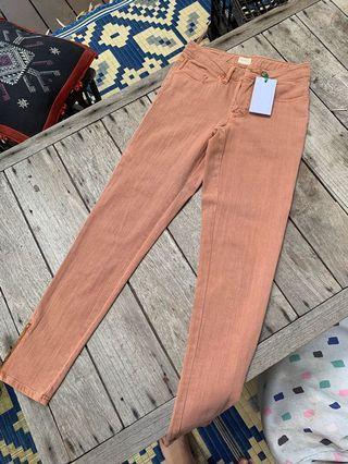 Gorman Orange Jeans Size 6