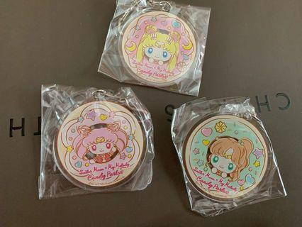 🚚 sailor moon x my melody candy parlor cafe limited key rings