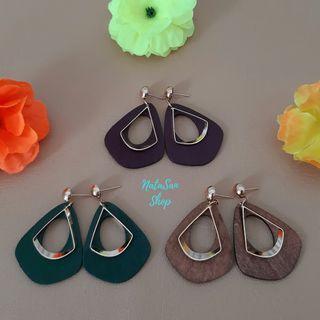 New Anting Panjang Vintage Korea | Anting Tusuk Giwang | Geometry Earrings
