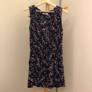 Mango Navy Butterfly Printed Dress 👗 #dressforsuccess30