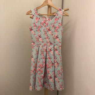 Floral Vintage Rose Print Dress 👗 #dressforsuccess30
