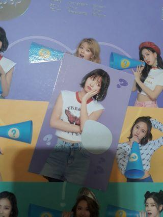[WTT ONLY] TWICE WHAT IS LOVE ALBUM OFFICIAL SCRATCH PHOTOCARD