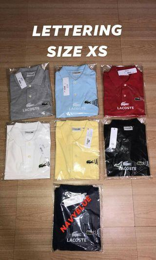 Lacoste Lettering Polo