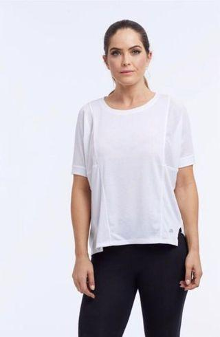 🚚 Marika Activewear Infusion Sports T Shirt in White