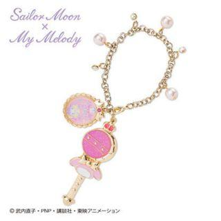sailor moon x my melody bag charm