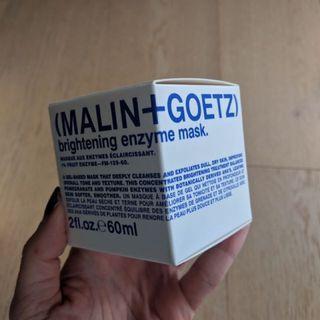 New in box -Malin Goetz enzyme mask