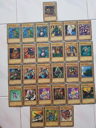 Yugioh TCG Normal Monsters Set