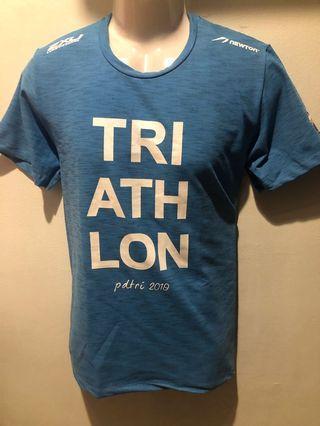 Port dickson 2019 triathlon event tee M size Newton 2xu