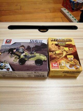 兩盒賣 全新未拆封 樂高