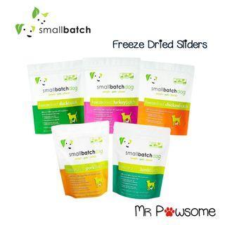 Smallbatch Dog Freeze Dried Sliders / Food 14oz (400g)