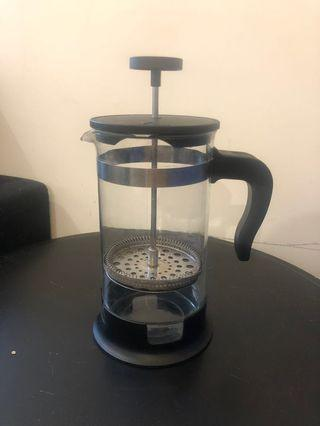 Hand-pressed Coffee maker - amazing condition