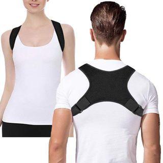 Posture Corrector Brace Women Men BAD Back Support Clavicle Shoulder Belt Body