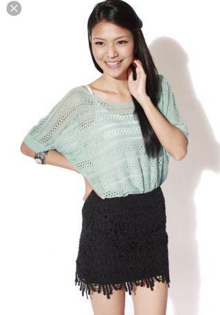LB crochet skirt