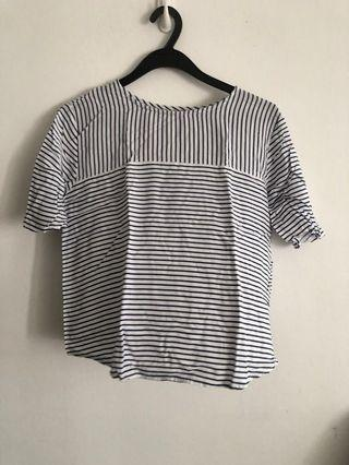🚚 Pull and bear stripe top