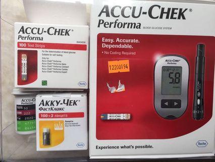 Accu-Chek performa 測糖機 血糖試紙