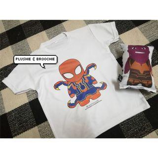 Avengers spider man shirt