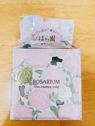 🚚 資生堂 SHISEIDO ROSARIUM  玫瑰園潤膚乳霜皂