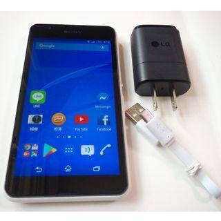<二手良品螢幕無刮傷>Sony Xepria E4g E2053 500萬相機 4.7 吋安卓4.4功能正常只要1200