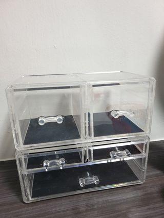 🚚 PRELOVED Acrylic Cosmetic Organizer