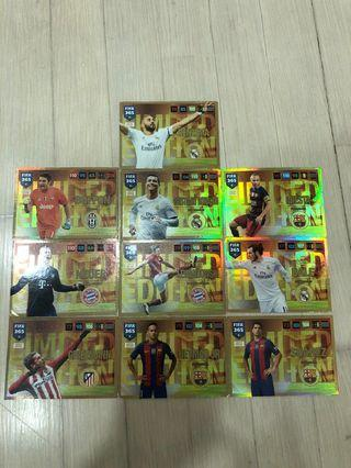 FIFA 365 Cards(Limited editions)